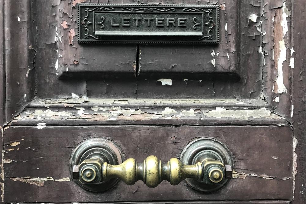 Trasteveresta postilaatikko